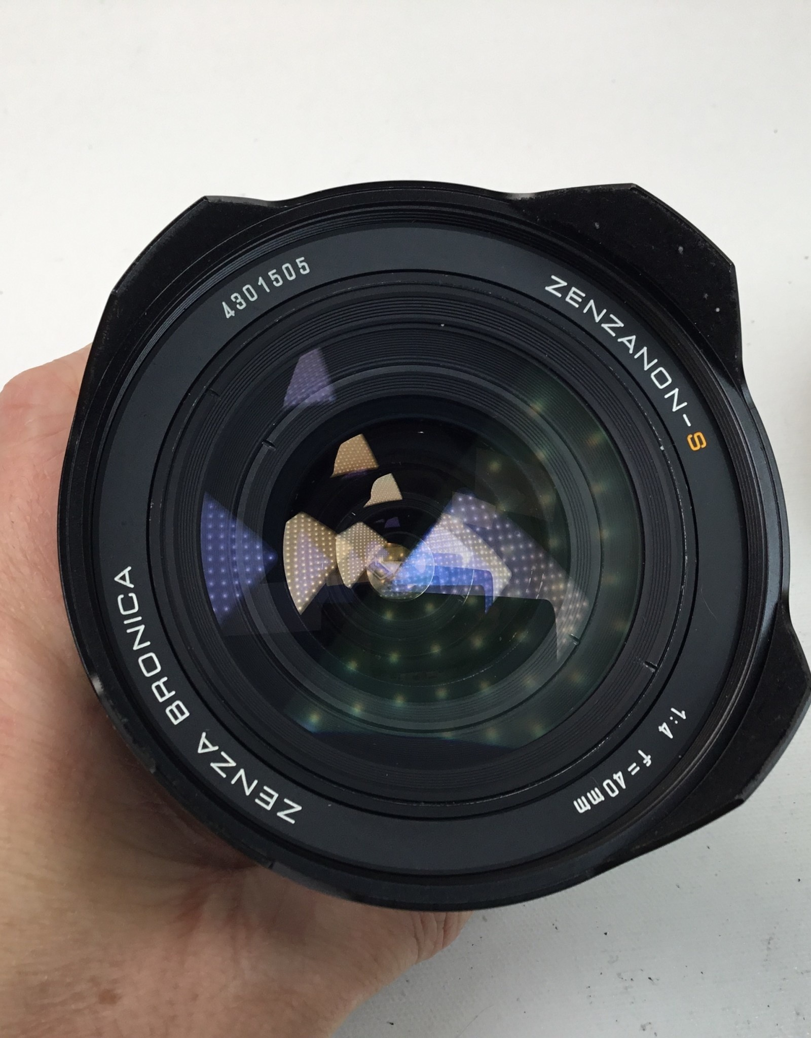 Bronica Bronica Zenzanon-S 40mm f4 Lens for SQ Used EX