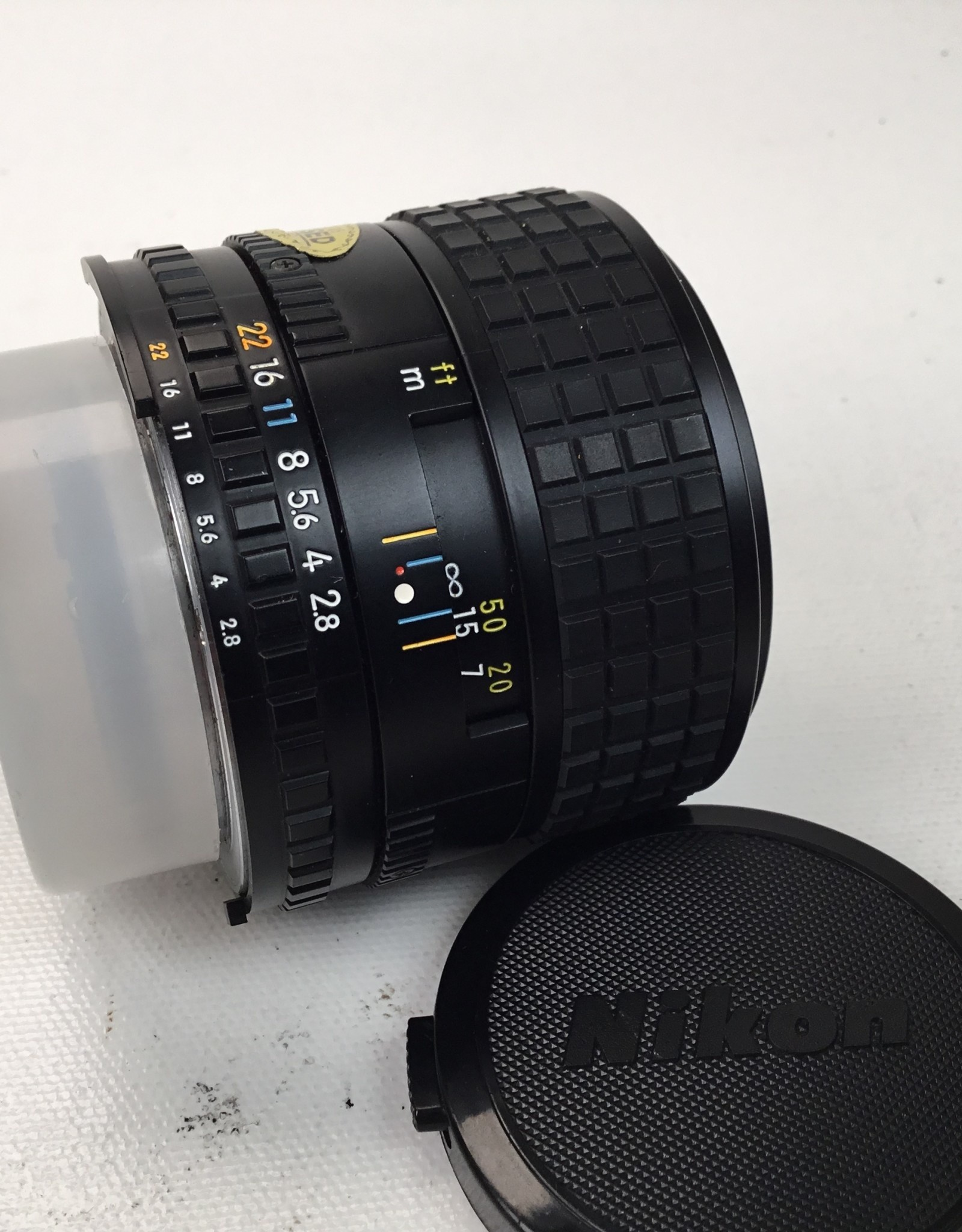 NIKON Nikon Series E 100mm f2.8 lens Used EX