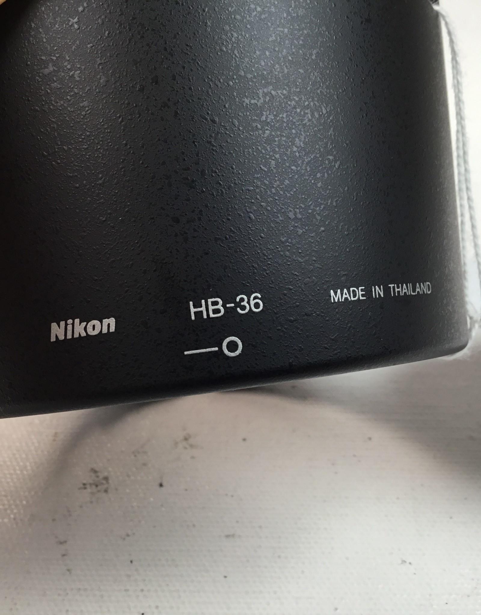 NIKON Nikon HB-36 Lens Hood for 70-300mm Used EX