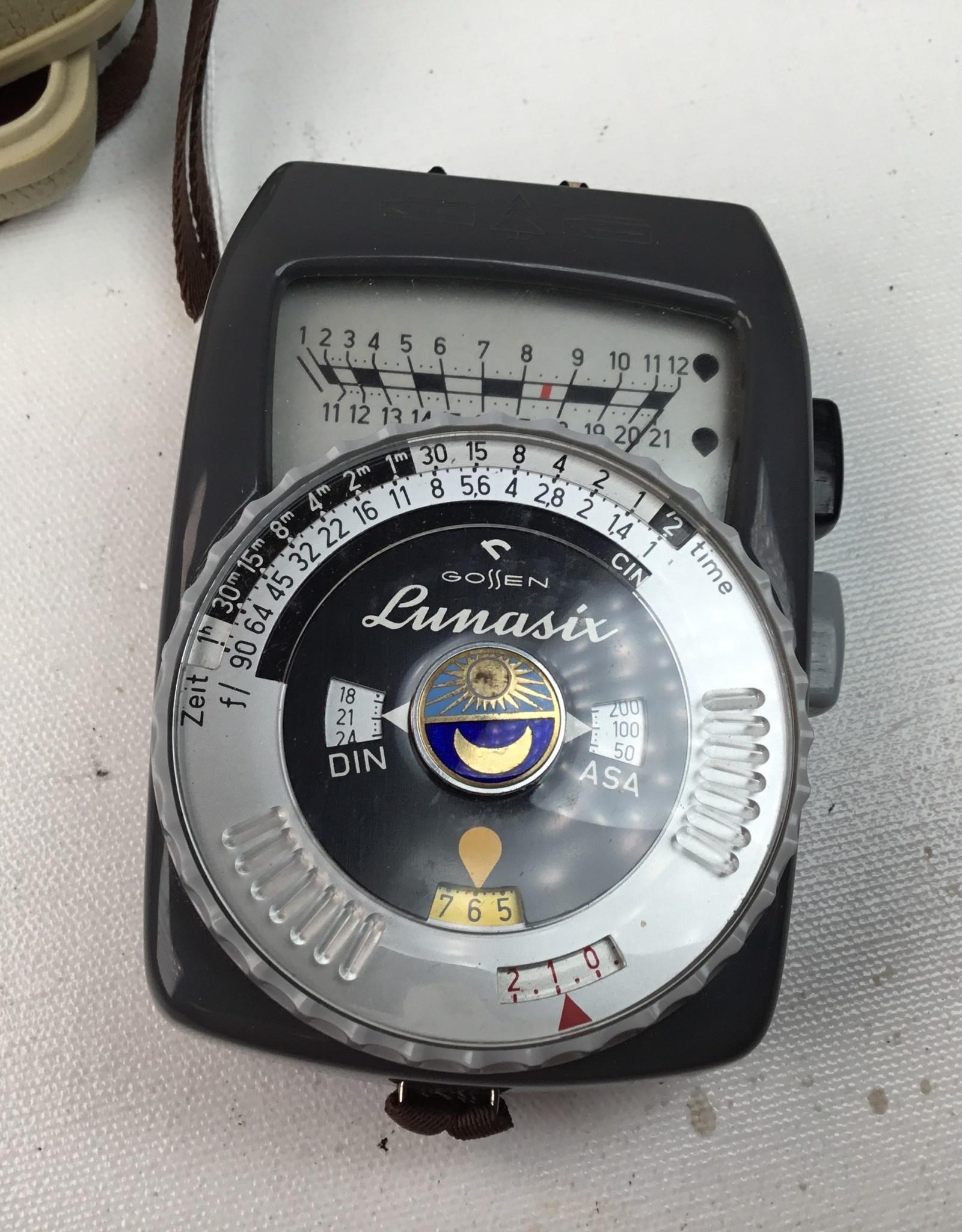 Gossen Gossen Lunasix Light Meeter Used EX