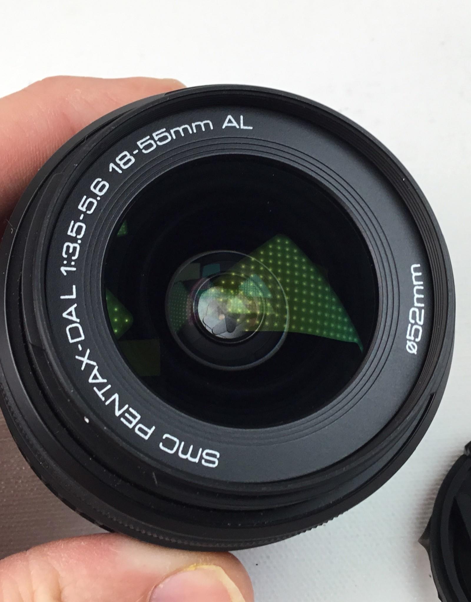 Pentax Pentax DAL 18-55mm f3.5-5.6 AL Lens Used EX