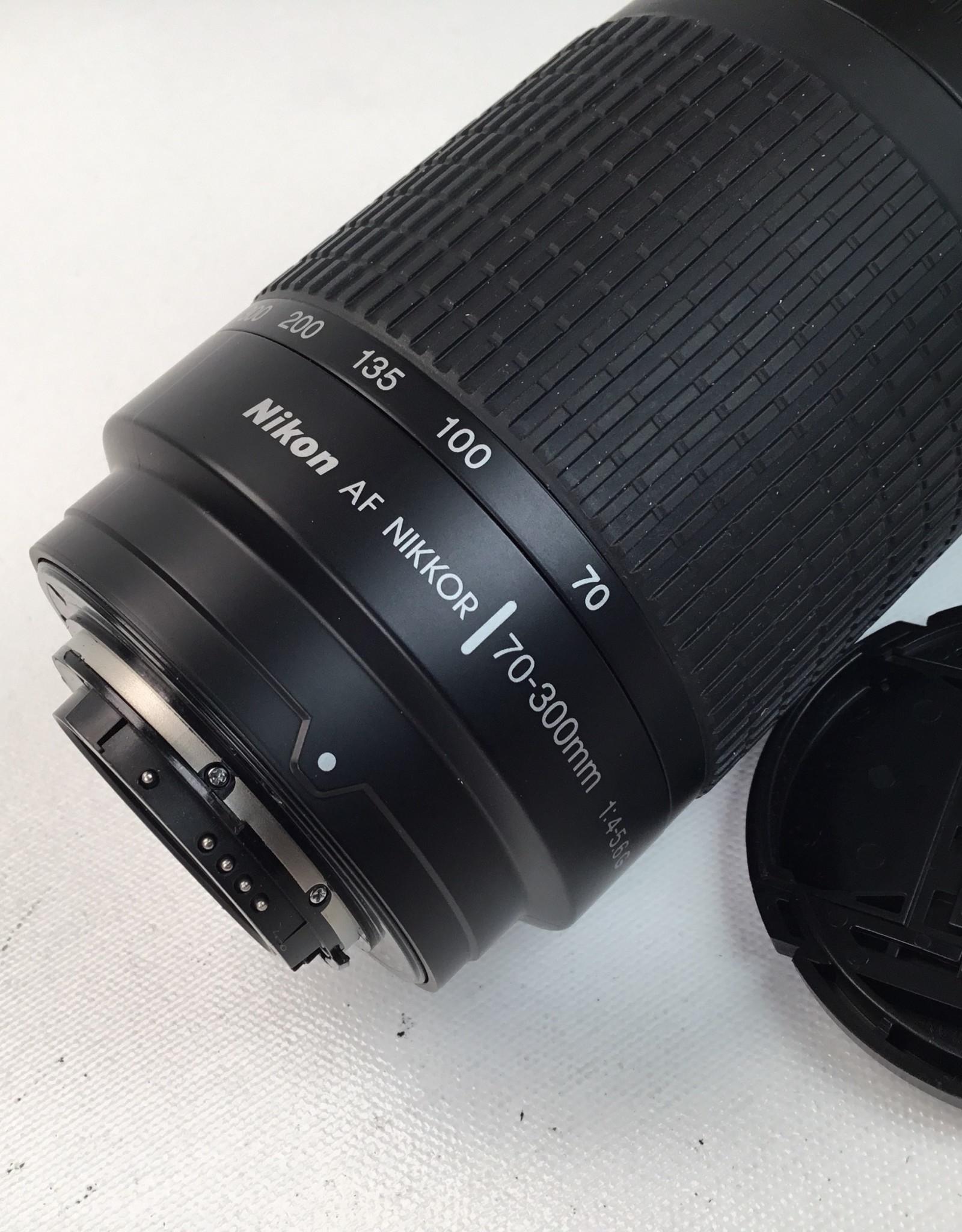 NIKON Nikon AF Nikkor 70-300mm f4-5.6 G Lens Used EX