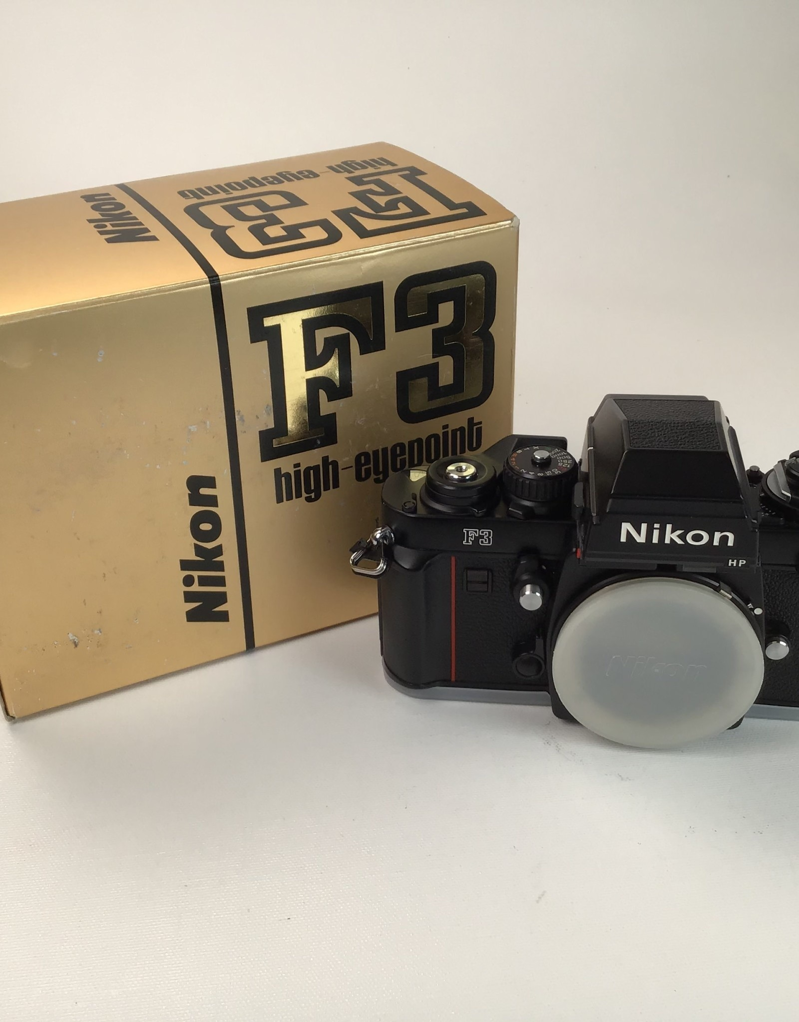 NIKON Nikon F3 HP Camera Body in Box Used EX+