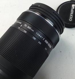 OLYMPUS Olympus 75-300mm f4.8-6.7 II ED MSC Lens Used EX+