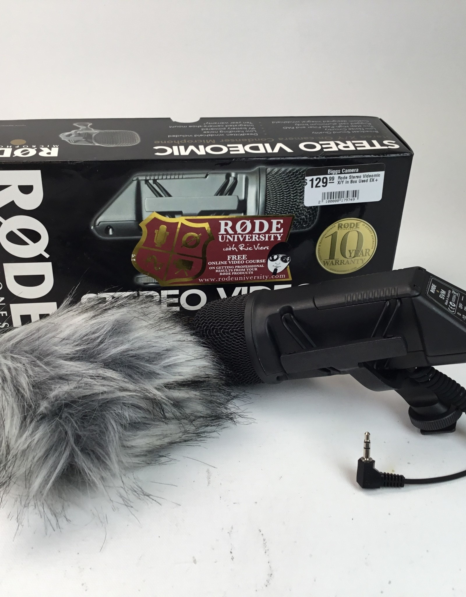 RODE Rode Stereo Videomic X/Y in Box Used EX+
