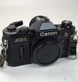 CANON Canon AE-1 Black Body Used EX