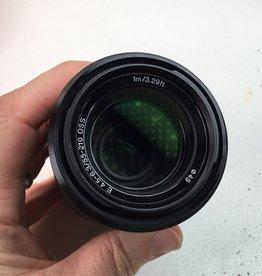 SONY Sony E 55-210mm f4.5-6.3 OSS Lens Black in Box Used EX+