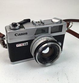 CANON Canon Canonet QL17 G III 35mm Camera Used EX