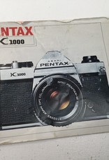 Pentax Pentax Manual for K1000 Camera Body Used EX-