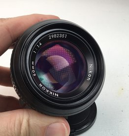 NIKON Nikon Nikkor 50mm f1.4 Non AI Lens Used EX-