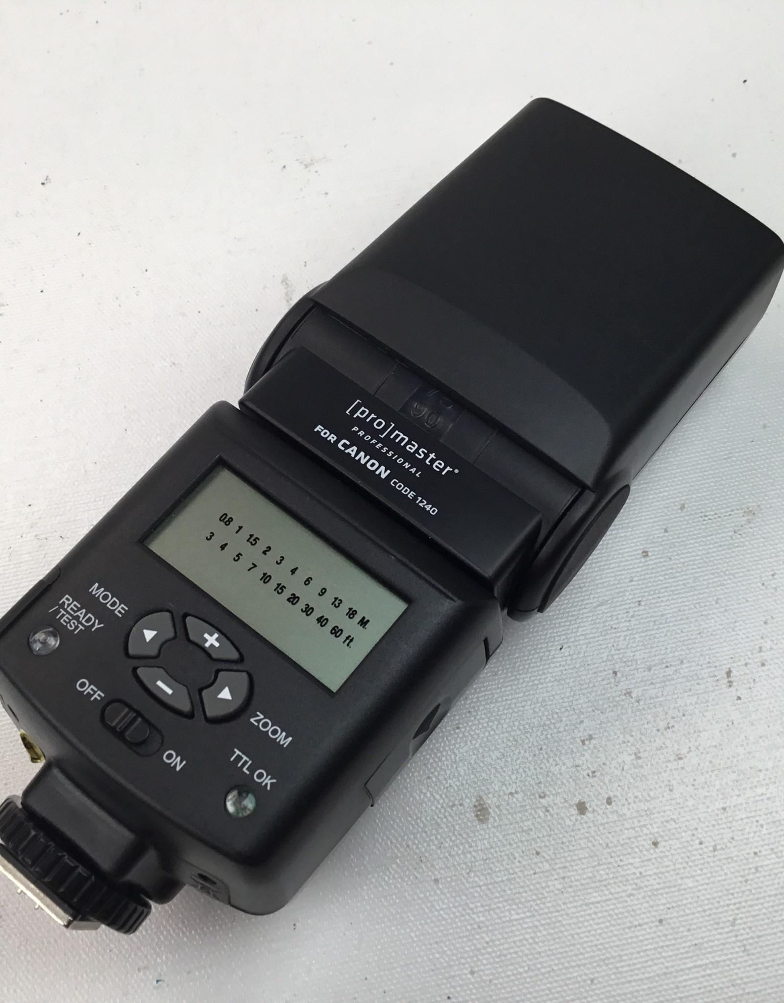 Promaster FL1 Flash for Canon Used EX