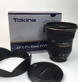Tokina Tokina 17-35mm f/4 Pro FX Lens for Nikon Used LN