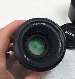 NIKON Nikon AF-S Nikkor 50mm f1.8 G Lens Used EX