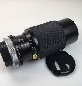 Vivitar Vivitar 75-205mm f3.8 Lens for Canon FD Mount Used EX