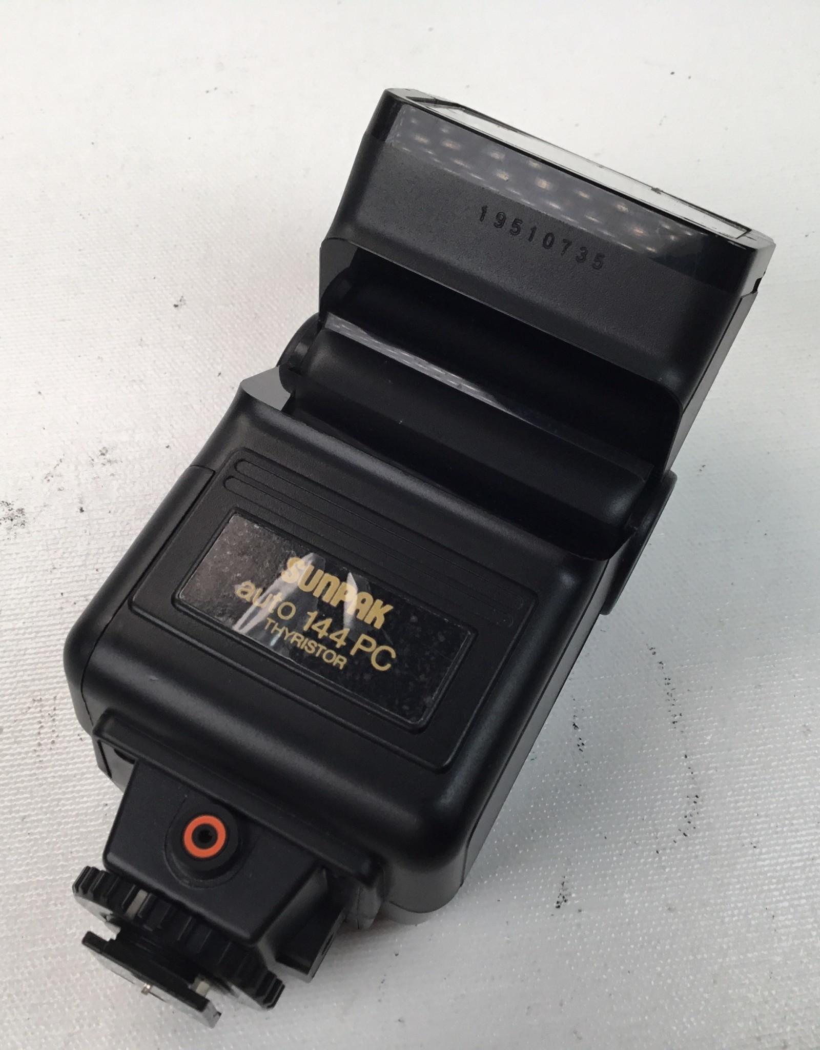 Sunpak auto 144 PC Flash Used EX