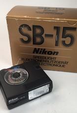 NIKON Nikon SB-15 Speedlight In Box  Used LN