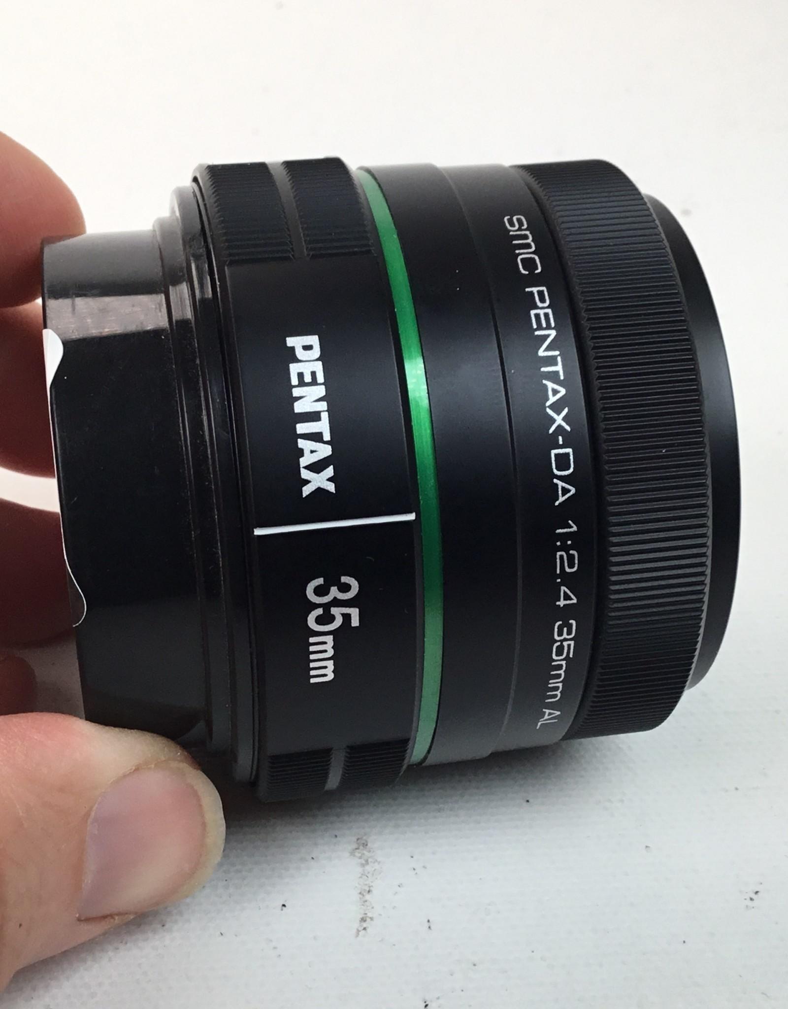 Pentax Pentax DA SMC 35mm f2.4 AL Lens Used EX