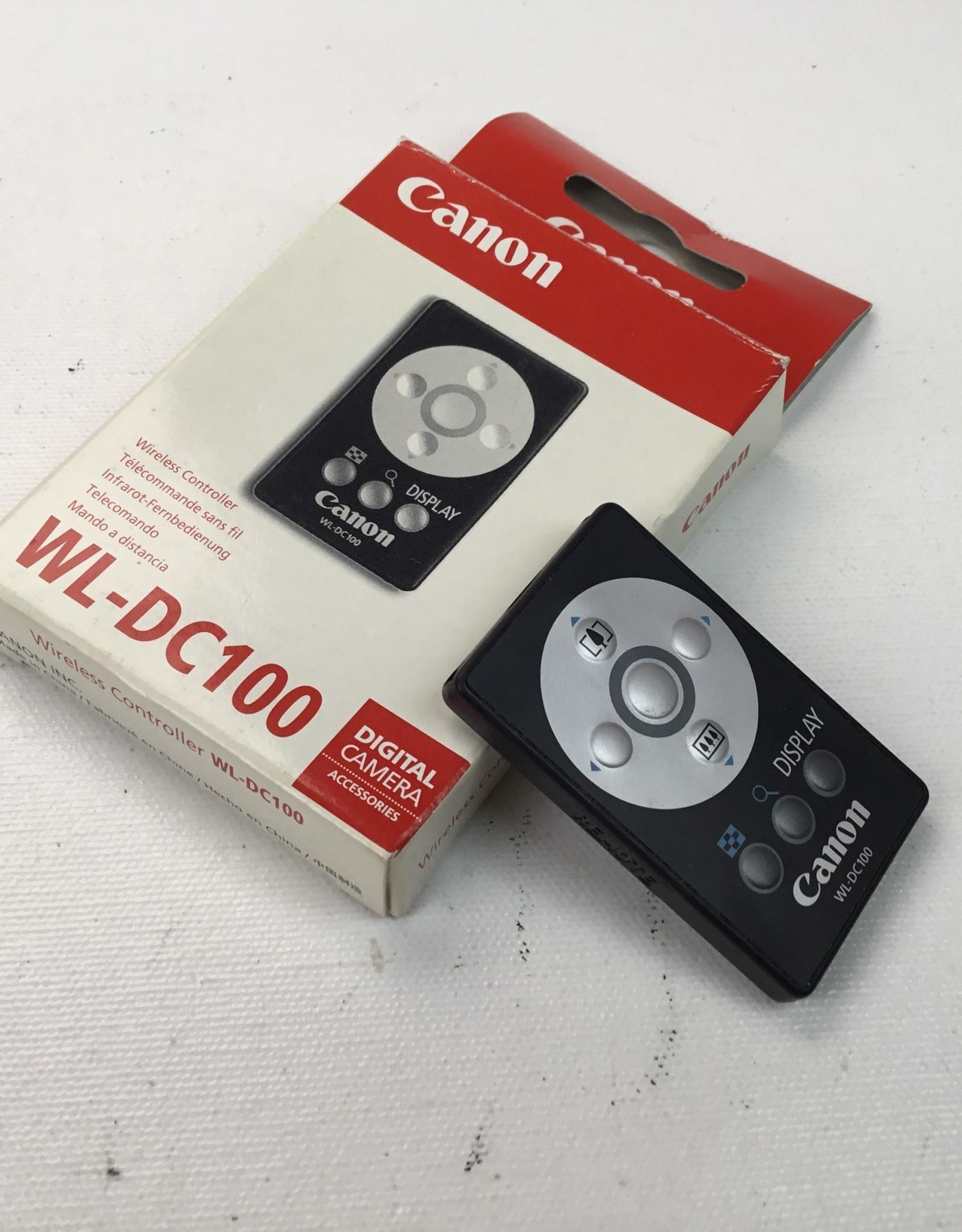 CANON Canon WL-DC100 Remote for G series Cameras Used EX