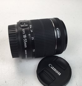 CANON Canon EF-S 18-55mm f3.5-5.6 IS STM Lens Used EX+