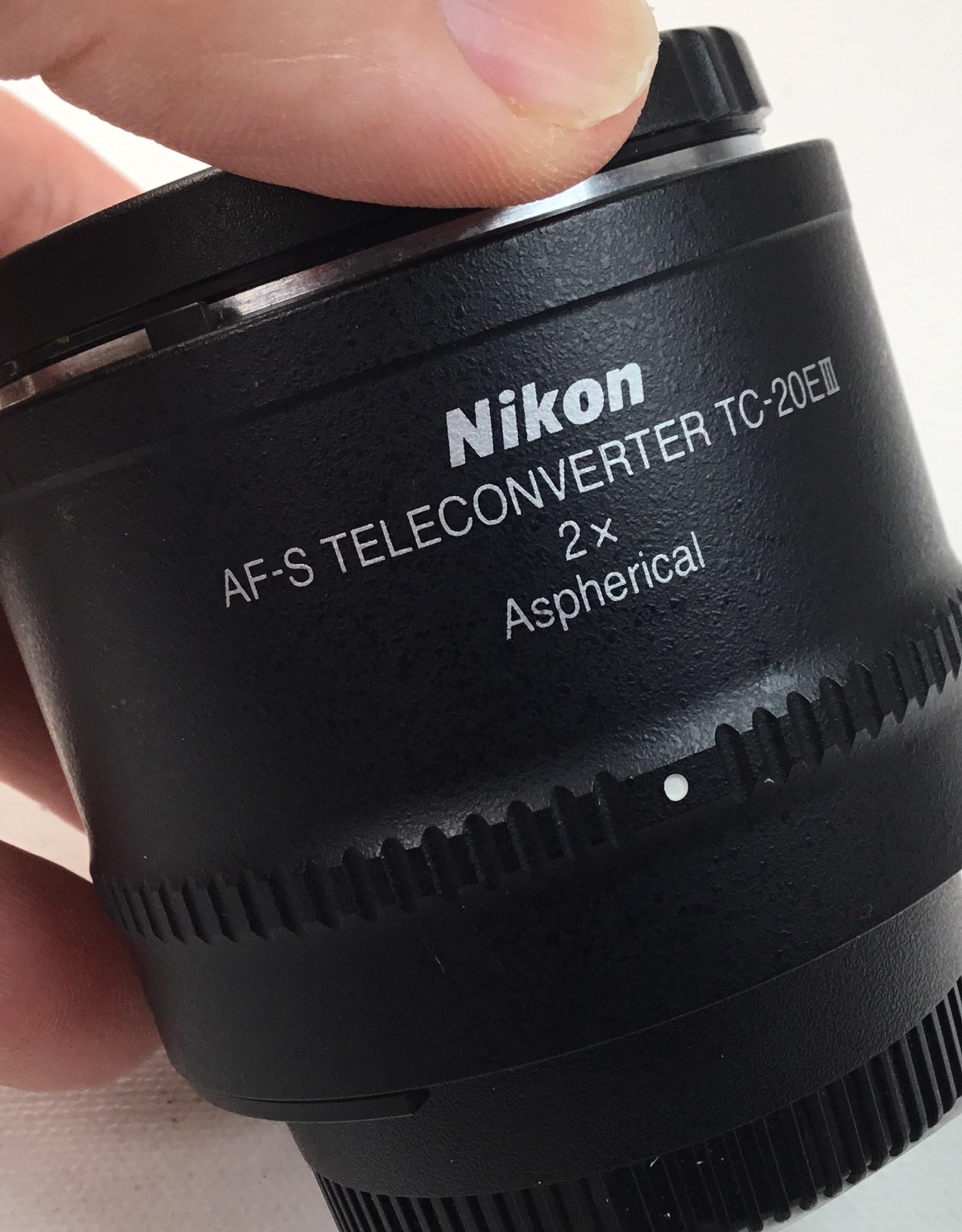 NIKON Nikon AF-S Teleconverter TC-20EIII Used EX+