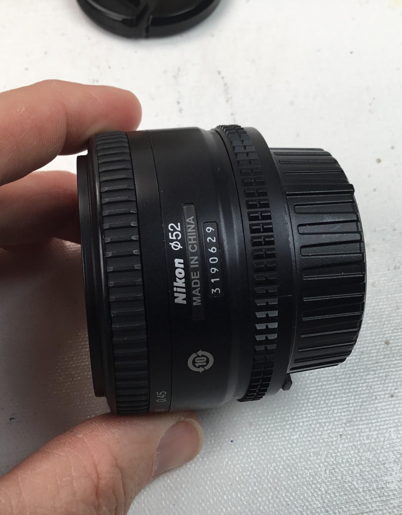 NIKON Nikon AF Nikkor 50mm f1.8 D Lens in Box Used EX+