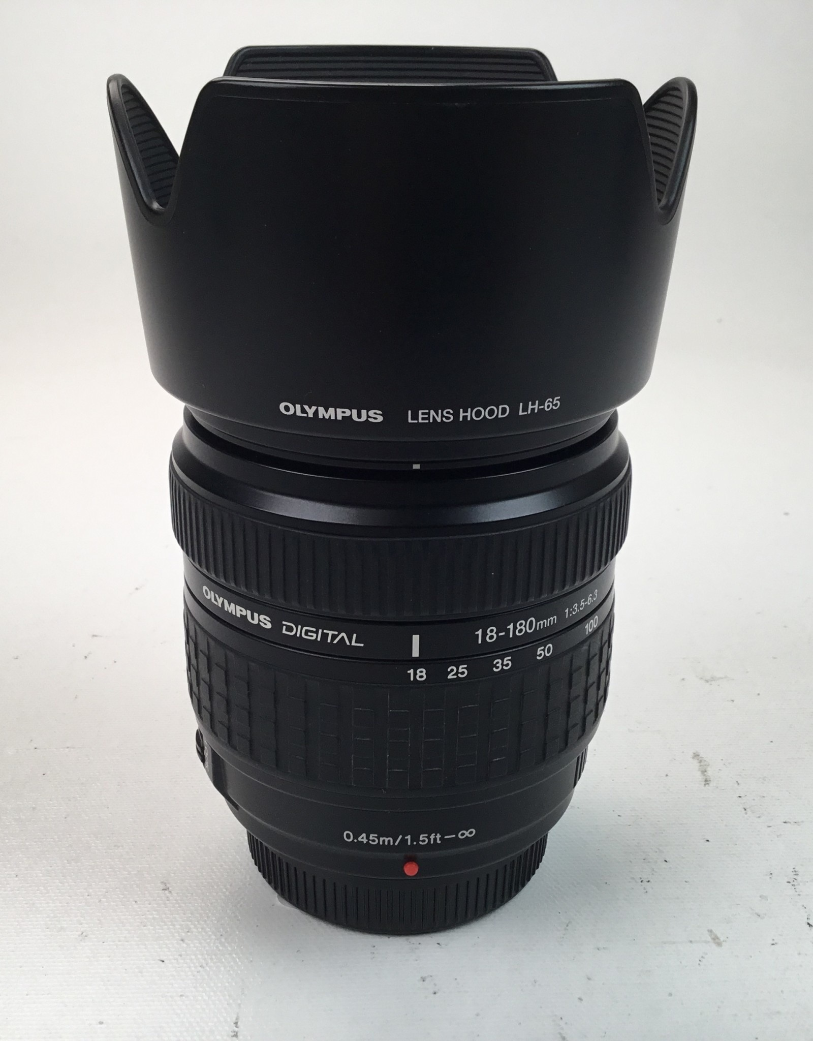 OLYMPUS Olympus 18-180mm f3.5-6.3 Four Thirds Lens Used EX