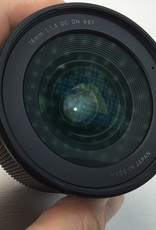 SIGMA Sigma 16mm f1.4 DC DN Lens for Canon M Used EX+