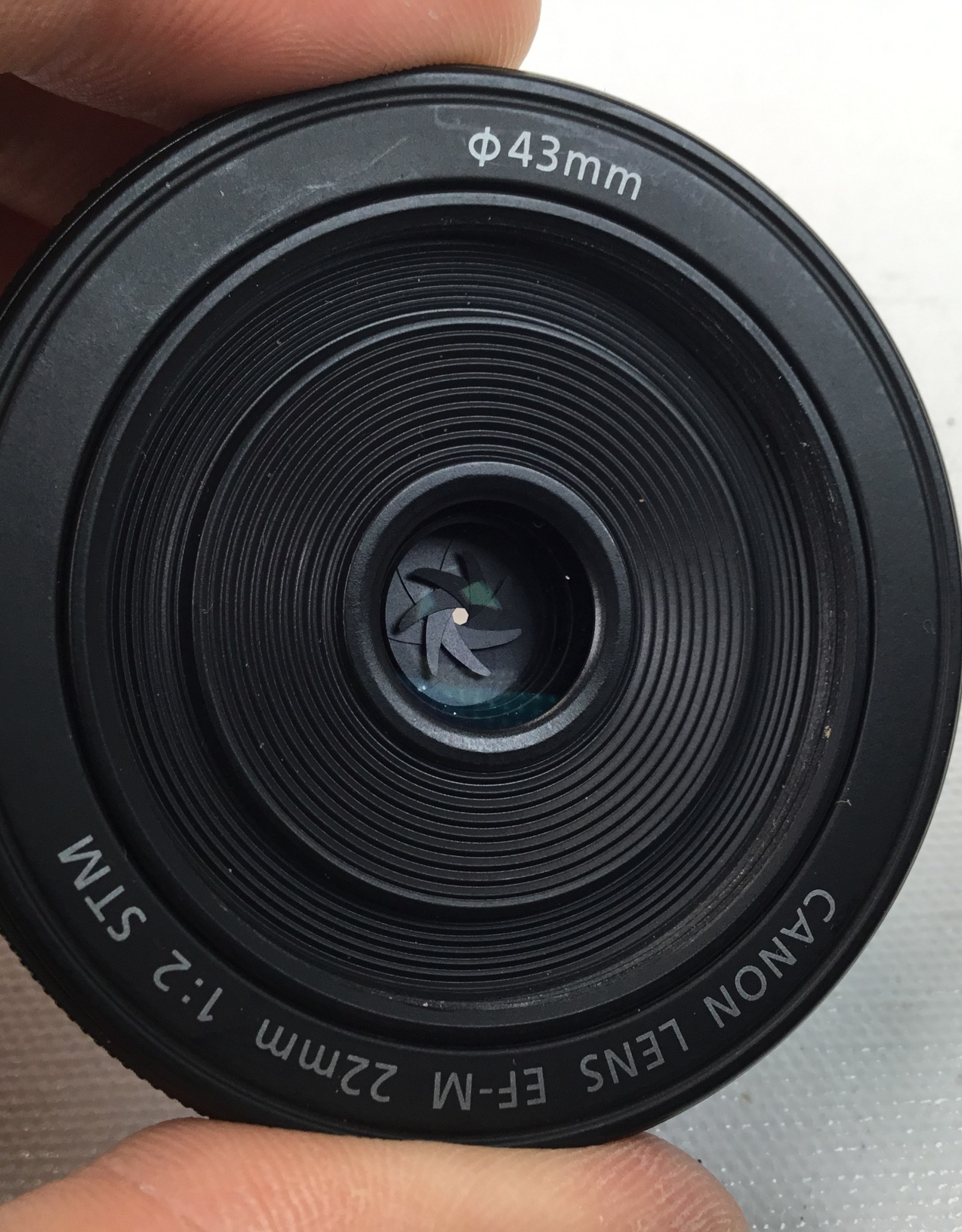 CANON Canon EF-M 22mm f2 STM Lens Used EX+