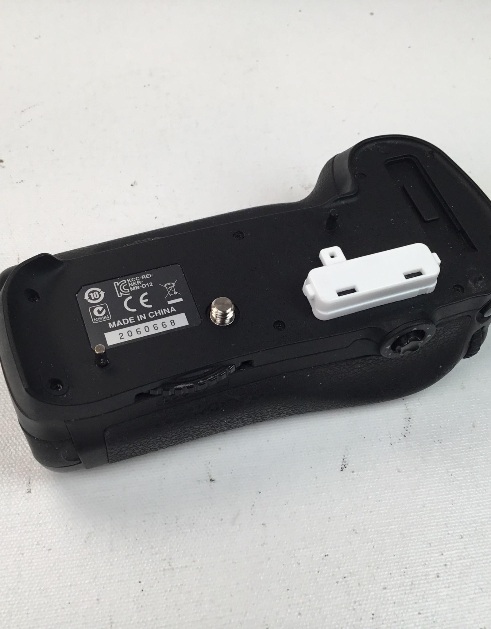 NIKON Nikon MB-D12 Battery grip for D810 Camera Used EX