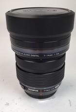 OLYMPUS Olympus M.Zuiko Digital 7-14mm f:2.8 lens Used Ex+