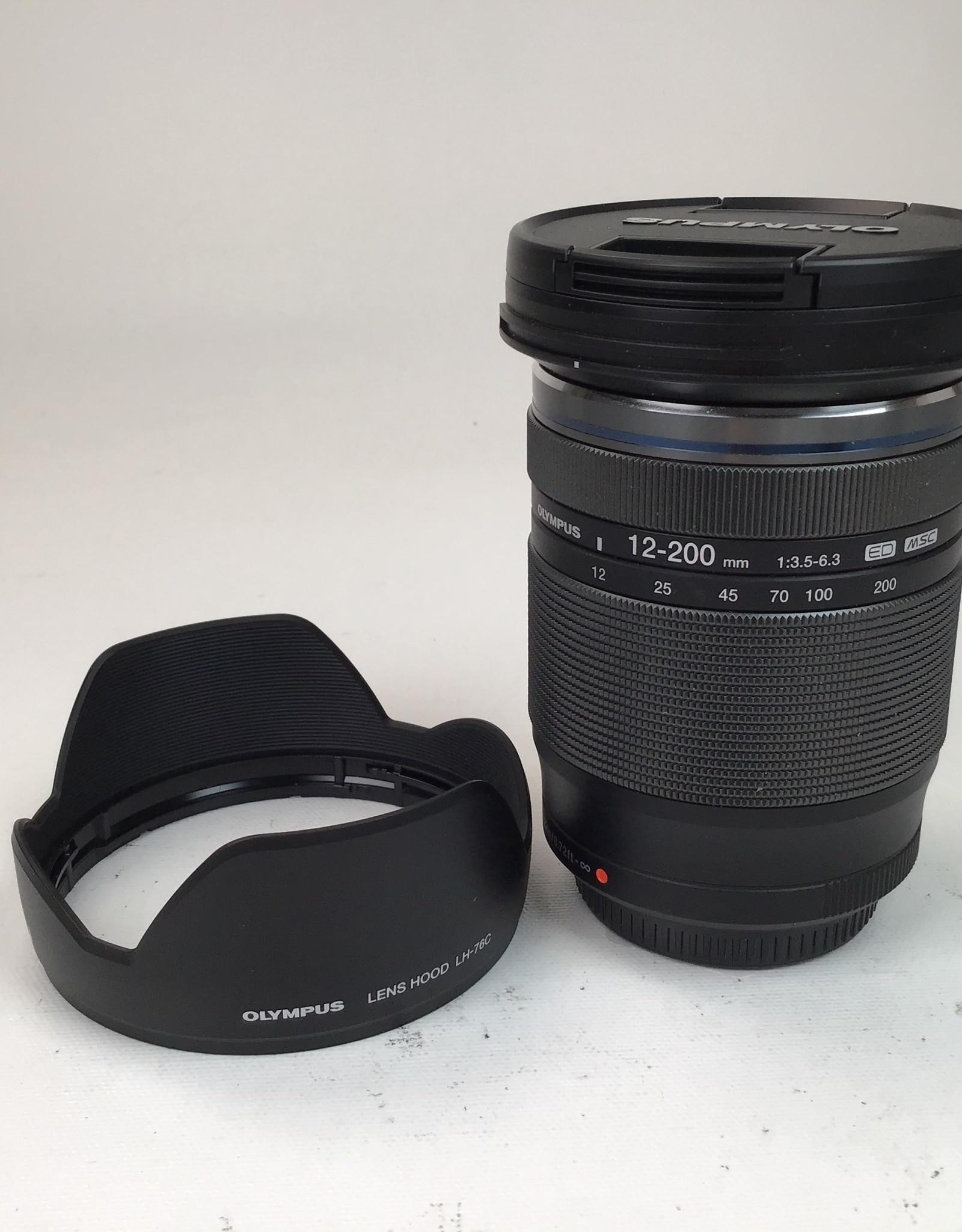 OLYMPUS Olympus M.Zuiko Digital 12-200mm f:3.5-6.3 lens Used Ex+
