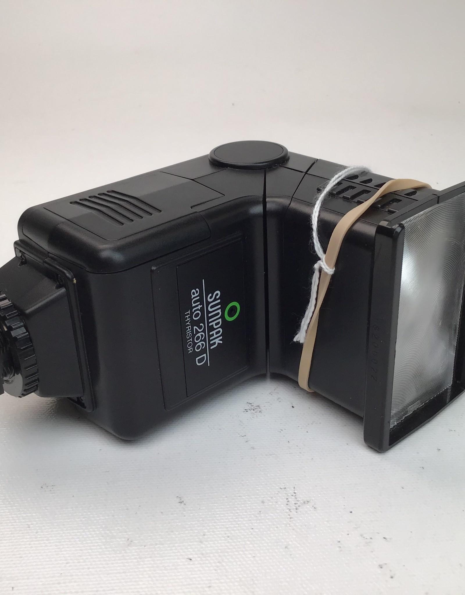 Sunpak auto 266 D Flash Used Ex