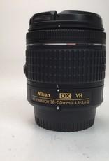 NIKON Nikon DX VR AF-P Nikkor 18-55mm f:3.5-5.6G Lens Used Ex+