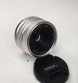 7artisans 7artisans 25mm f1.8 Lens for Micro Four Thirds Used EX