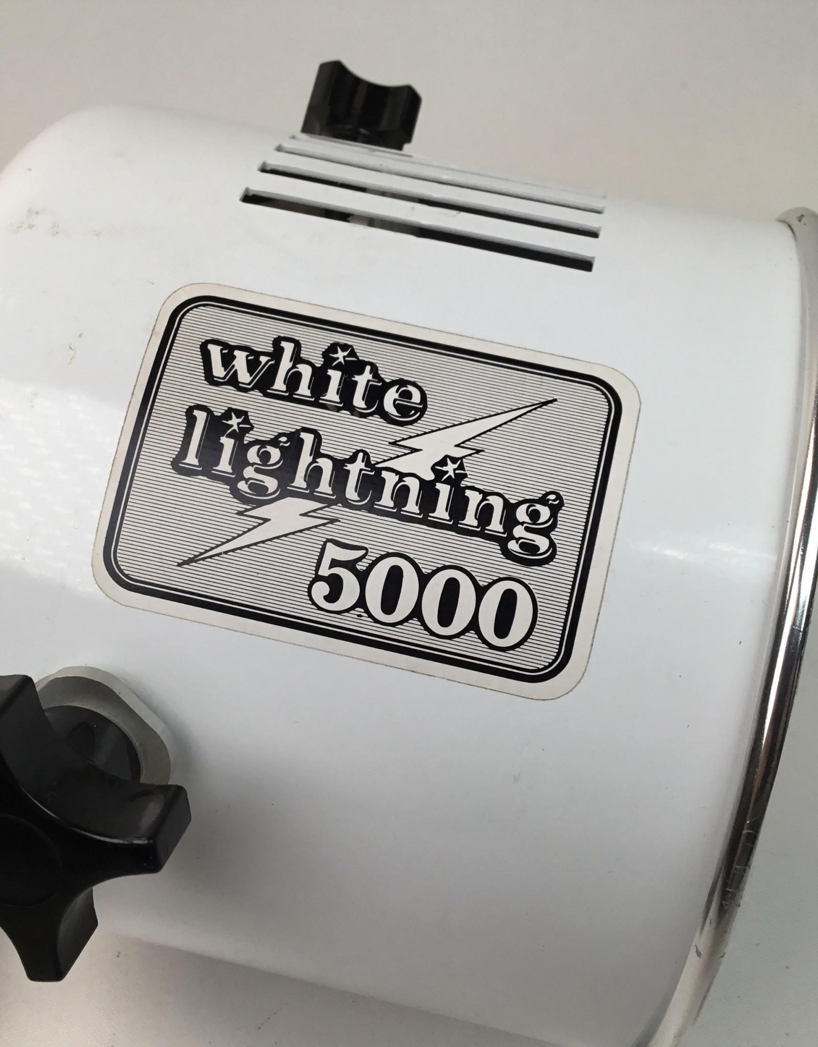 White Lightning 5000BCPS Studio Strobe Used EX