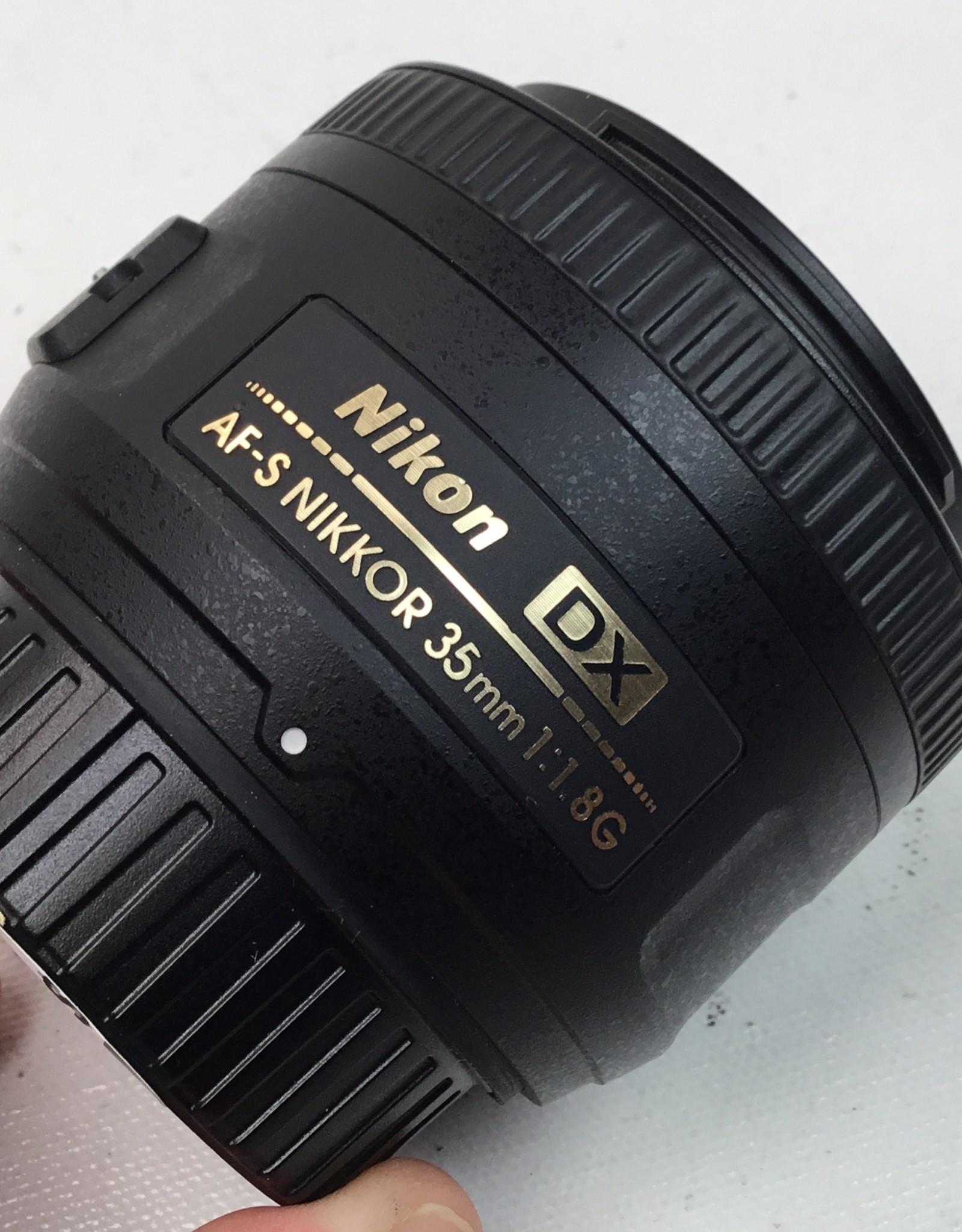 NIKON Nikon AF-S Nikkor 35mm f2.8 G DX Lens Used EX