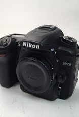 NIKON Nikon D7500 Camera Body Shutter Count 3573 Used EX+