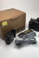 NIKON Nikon D610 Camera body in box w/ chg Used Ex