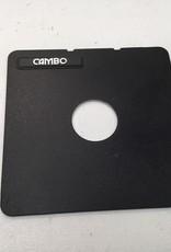 cambo Cambo Lens Board 39mm Hole Used EX