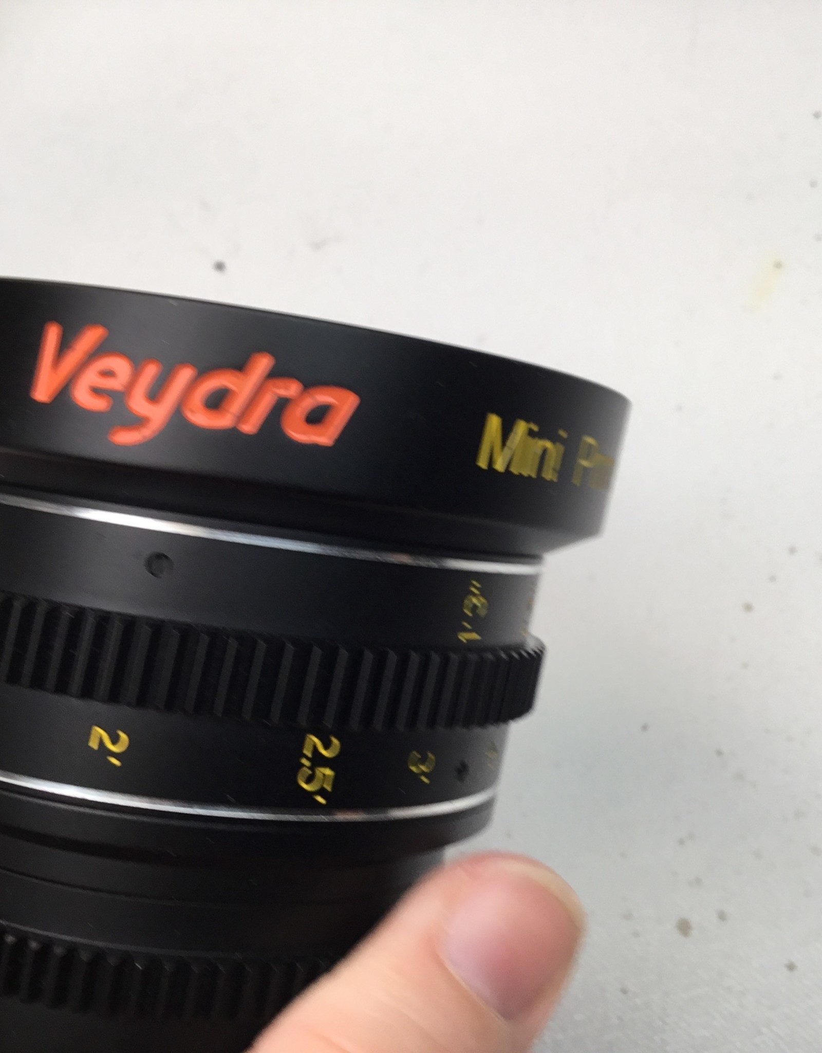 Veydra Mini Prime 50mm T2.2 Lens for Sony E Used EX