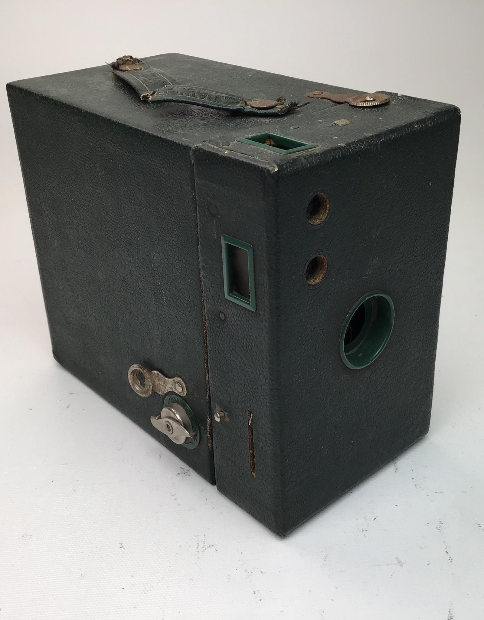Kodak Rainbow Hawk-eye #2 Model B Box Camera Used Disp