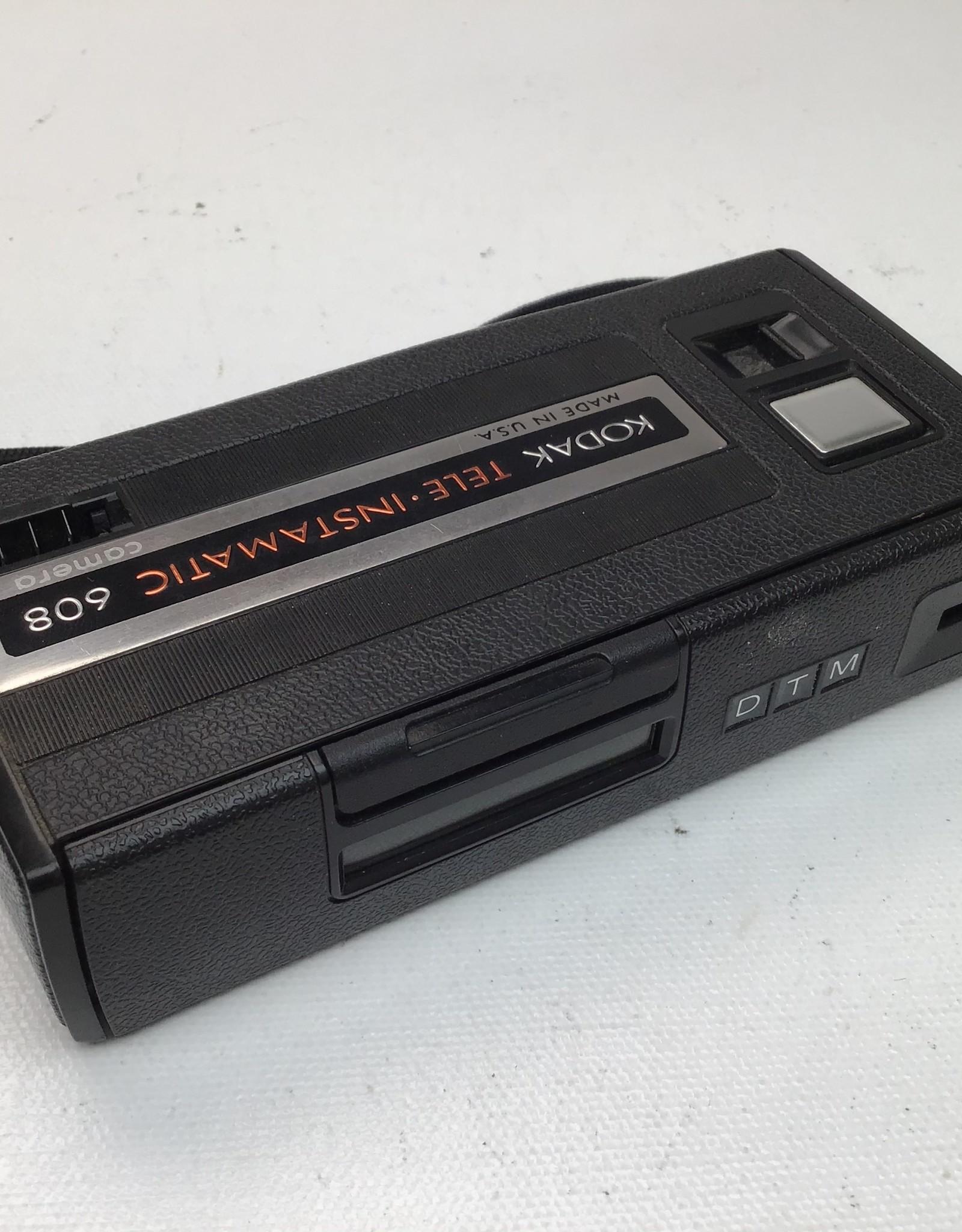 Kodak Tele-Instamatic 608 110 Film Camera Used AsIs