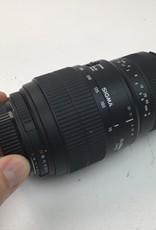 SIGMA Sigma 70-300mm D f:4-5.6 lens for Nikon F mount Used Good