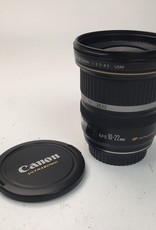 CANON Canon EF-S 10-22mm f:3.5-4.5 USM lens Used EX
