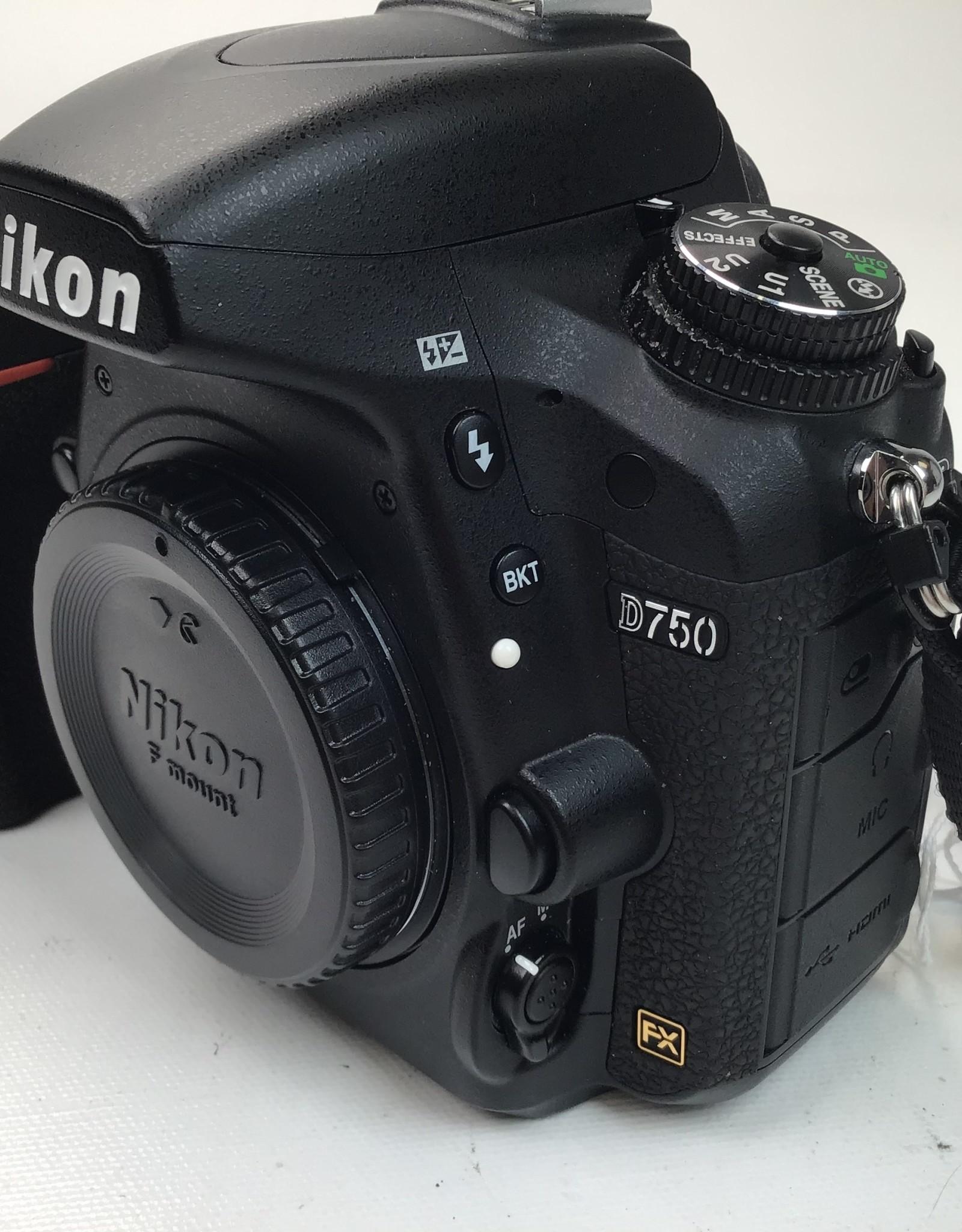 NIKON Nikon D750 Camera w/ chg Used (1646) EX