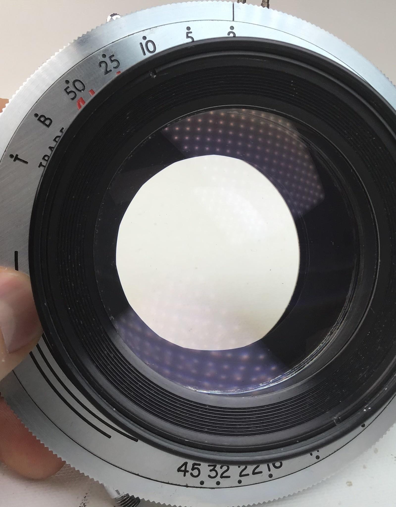 Carl Meyer 305mm (12 Inch) Anastigmat Lens in Alphax Shutter Used Good