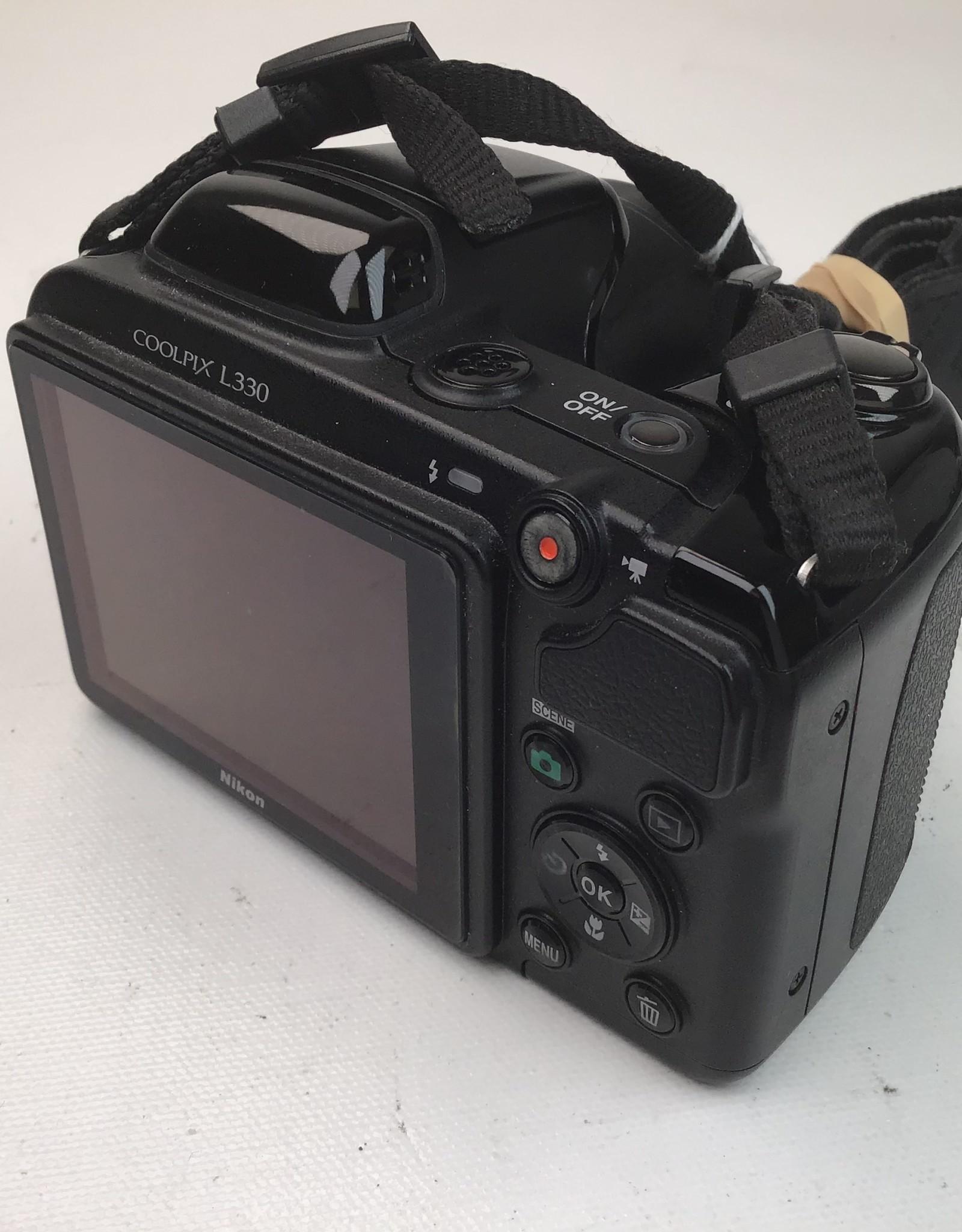 NIKON Nikon Coolpix L30 Digital Camera Used Fair