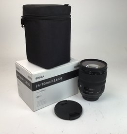 SIGMA Sigma 24-70mm f:2.8 DG Art Lens for Canon Used Mint