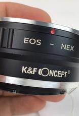 K&F Concept EOS - NEX Adapter Used EX