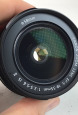 CANON Canon EF-S 18-55mm f:3.5-5.6 IS II Lens Used EX
